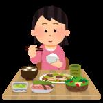 syokuji_woman1